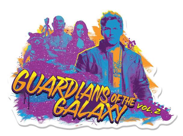 Guardians of The Galaxy Vol. 2 Graffiti Guitar Cardboard Cutout Wall Art