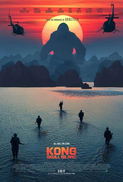 Kong: Skull Island Original Movie Poster – Advance Style