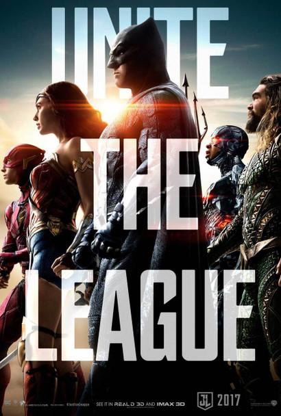 Justice League Original Movie Poster – Unite The League Advance Style