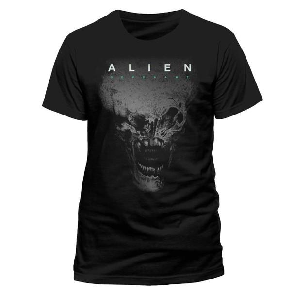 Alien: Covenant Alien Head Black Unisex T-Shirt