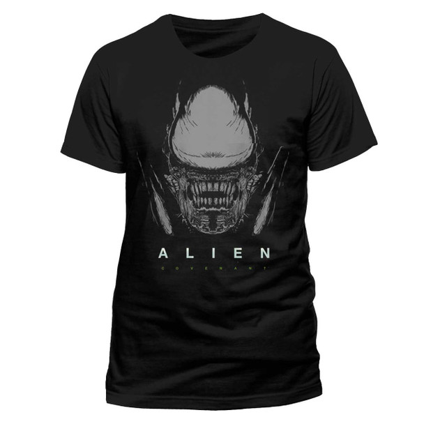 Alien: Covenant Xenomorph Official Black Unisex T-Shirt