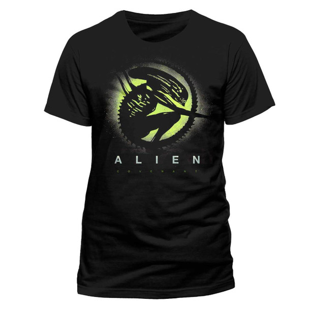Alien: Covenant Alien Silhouette Official Black Unisex T-Shirt
