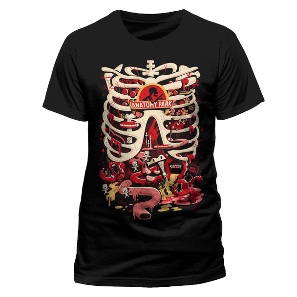 Rick and Morty Anatomy Park Official Black Unisex T-Shirt