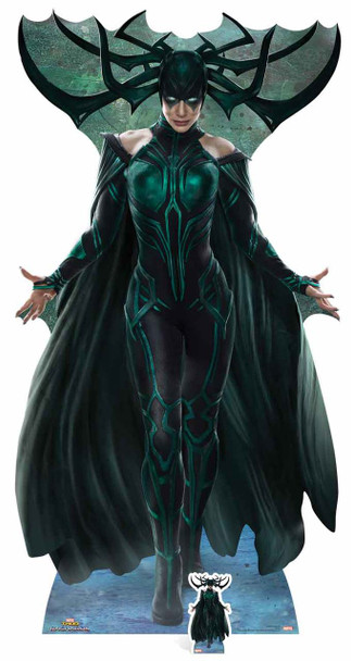 Hela from Thor: Ragnarok Official Marvel Lifesize Cardboard Cutout