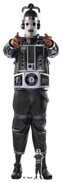 Mondassian Cyberman Doctor Who Lifesize Cardboard Cutout