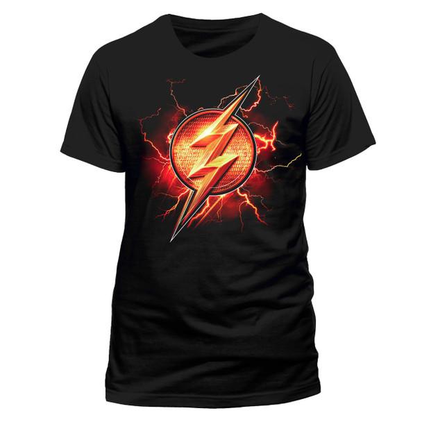 Justice League Flash Logo Official Movie Unisex T-Shirt