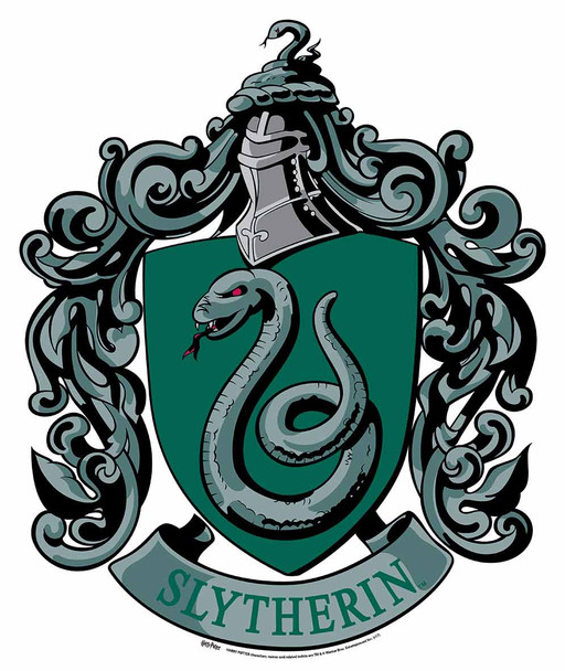 Slytherin Crest from Harry Potter Wall Mounted Official Cardboard Cutout