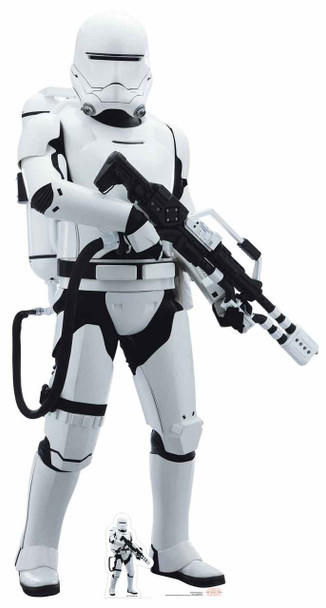 Flametrooper Star Wars The Last Jedi Lifesize Cardboard Cutout