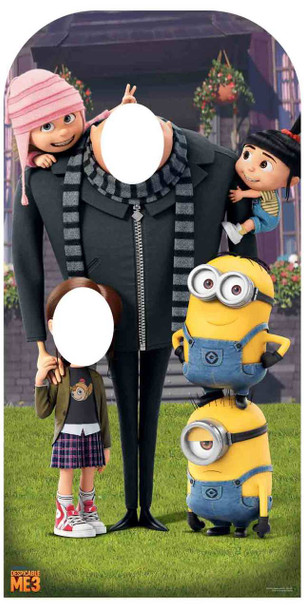 Despicable Me with Minions Cardboard Stand In / Stand u