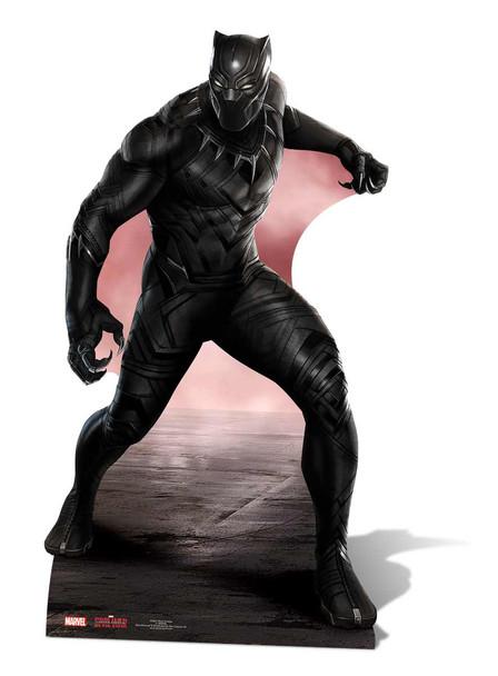 Black Panther Marvel Mini Cardboard Cutout