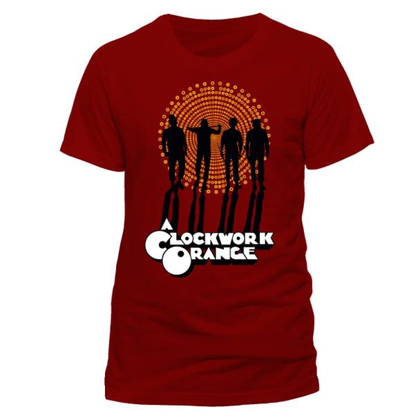 A Clockwork Orange Gang Style Official Unisex Red T-Shirt