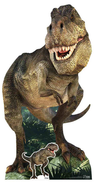 Tyrannosaurus Rex Dinosaur Natural History Museum Cardboard Cutout
