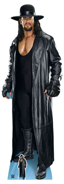 The Undertaker Long Coat and Hat WWE Lifesize Cardboard Cutout / Standup