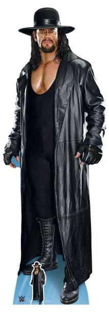 The Undertaker Long Coat and Hat WWE Lifesize Cardboard Cutout / Standup