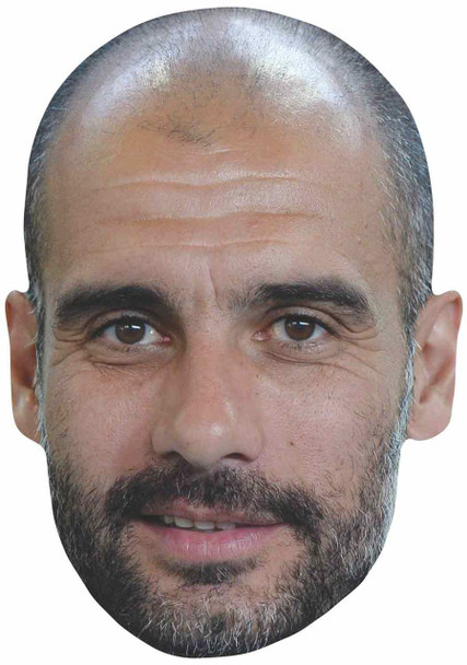 Pep Guardiola 2D Single Card Face Mask