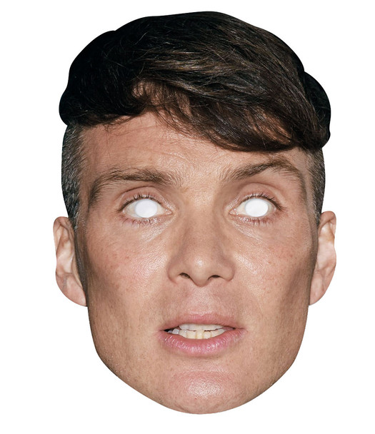 Cillian Murphy 2D Single Card Party Face Mask