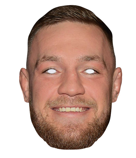 Conor McGregor 2D Single Card Party Face Mask