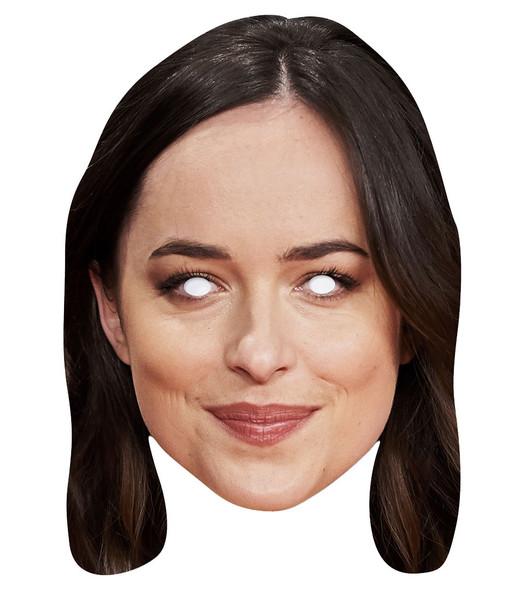 Dakota Johnson 2D Single Card Party Face Mask