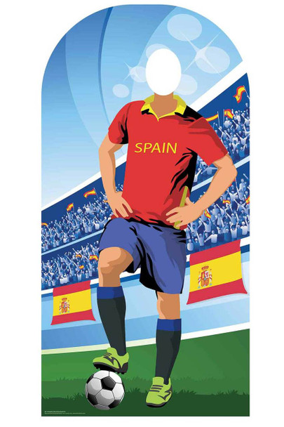 World Cup 2018 Spain Football Cardboard Cutout Stand-in