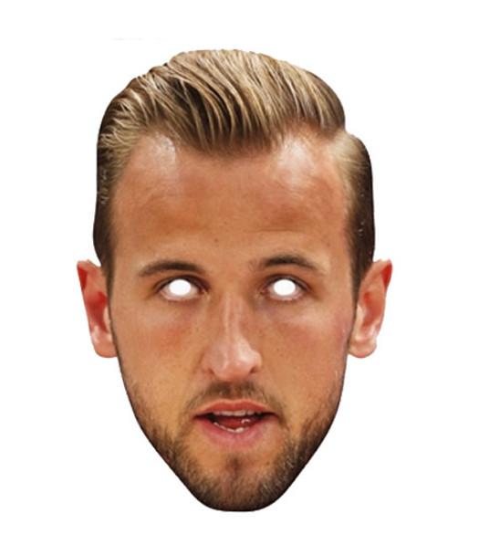 Harry Kane Footballer Single 2D Card Party Face Mask