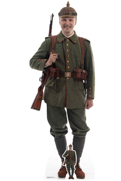 German World War 1 Soldier Cardboard Cutout / Standup / Standee