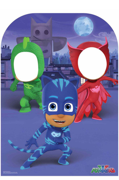 PJ Masks Child Size Stand In Cardboard Cutout / Standup / Standee