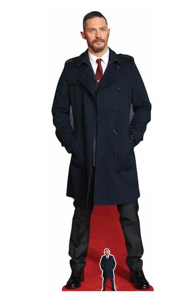 Tom Hardy Long Coat Cardboard Cutout / Standup / Standee