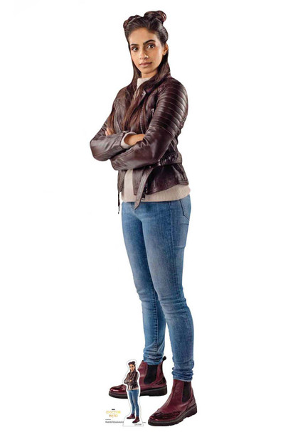 Yasmin Khan from The 13th Doctor Who Cardboard Cutout
