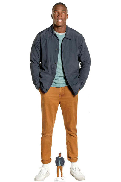 Ryan Sinclair from The 13th Doctor Who Cardboard Cutout
