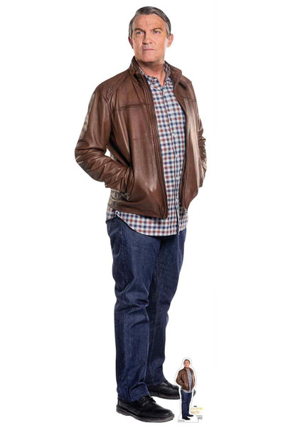 Graham from The 13th Doctor Who Cardboard Cutout / Standup