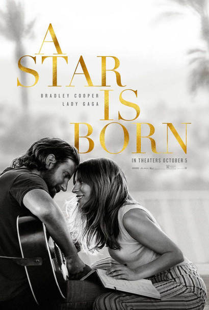 A Star is Born Original Movie Poster - Double Sided Advance Style