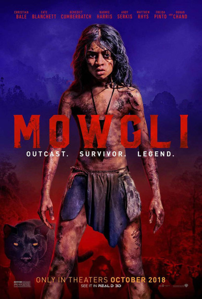 Mowgli Original Movie Poster - Double Sided Advance Style
