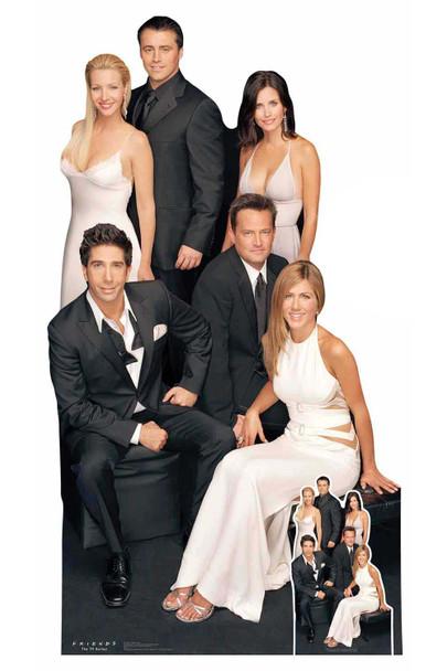 Friends Group Cardboard Cutout / Standup featuring Rachel, Ross, Joey & gang Cardboard Cutout / Standup