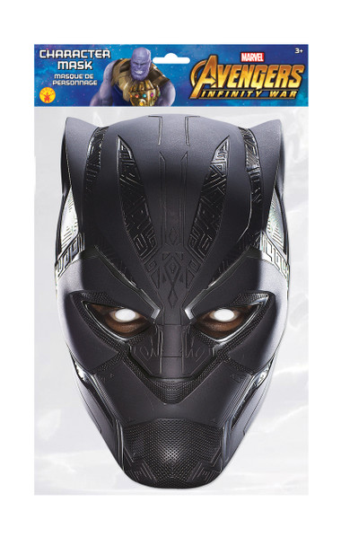Black Panther Infinity War Official Marvel Single 2D Card Party Face Mask