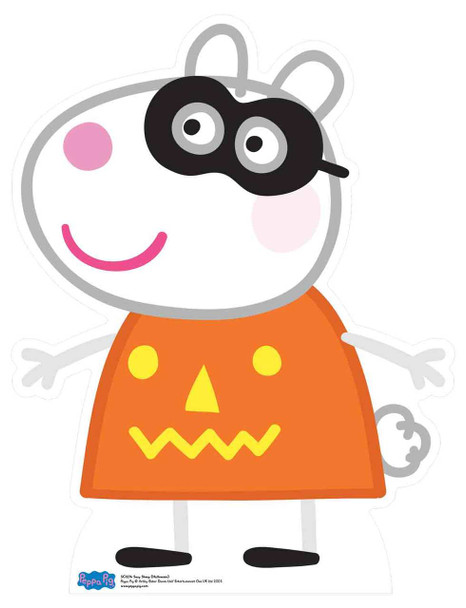 Suzy Sheep from Peppa Pig Halloween Cardboard Cutout