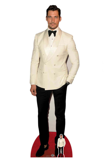 David Gandy Celebrity Cardboard Cutout / Standup / Standee