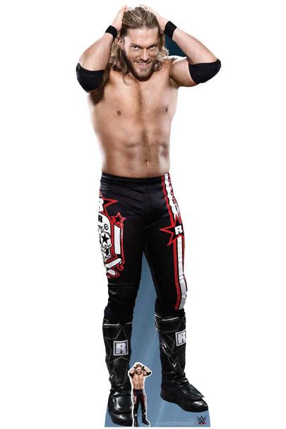 Edge WWE Official Lifesize Cardboard Cutout and mini