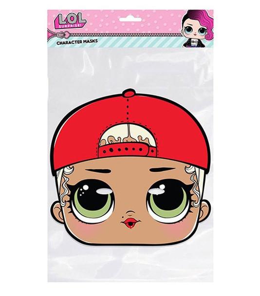 M.C. Swag LOL Surprise Single 2D Card Party Face Mask
