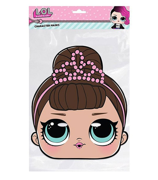 Fancy LOL Surprise Single 2D Card Party Face Mask
