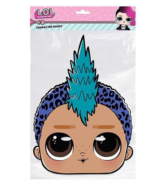 Punk Boi LOL Surprise Single 2D Card Party Face Mask