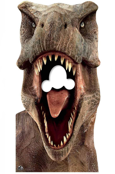 Tyrannosaurus Rex Official Jurassic World Stand in Lifesize Cardboard Cutout