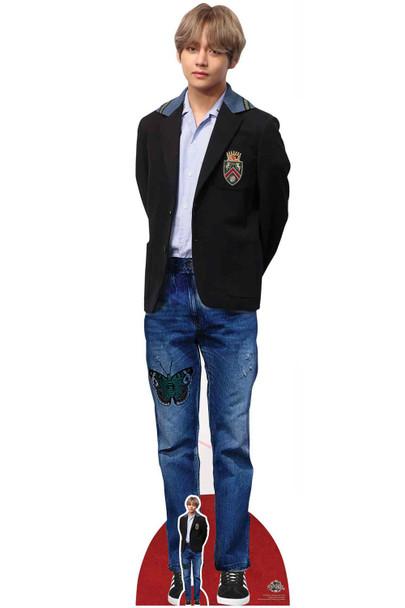 V Blazer Style from BTS Bangtan Boys Cardboard Cutout / Standup