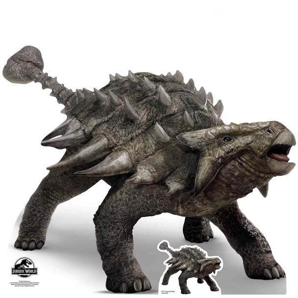 Ankylosaurus Official Jurassic World Cardboard Cutout / Standee