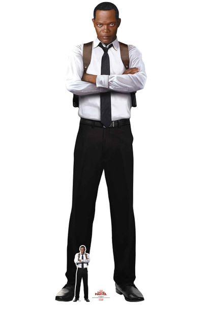 Young Nick Fury from Captain Marvel Official Cardboard Cutout/ Standup
