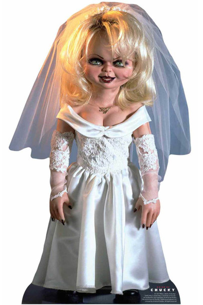 Tiffany Bride of Chucky Official Lifesize Cardboard Cutout / Standup
