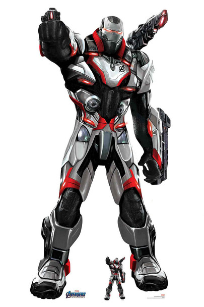 War Machine Marvel Avengers: Endgame Official Lifesize Cardboard Cutout