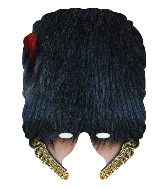 Coldstream Guard Single 2D Card Party Half Face Mask
