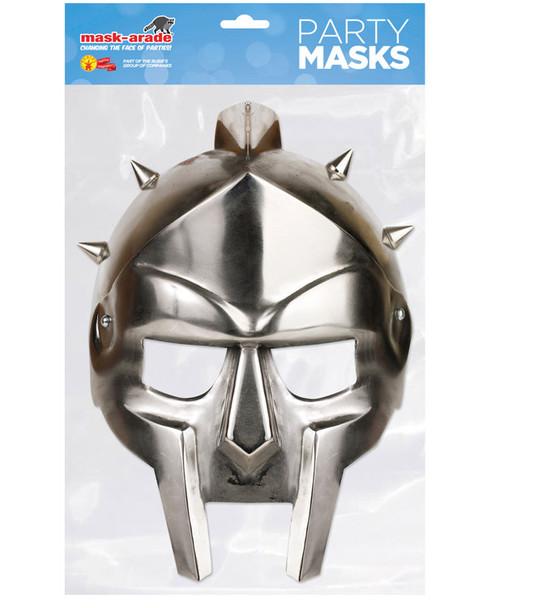 Gladiator Helmet Historical Single 2D Card Party Face Mask
