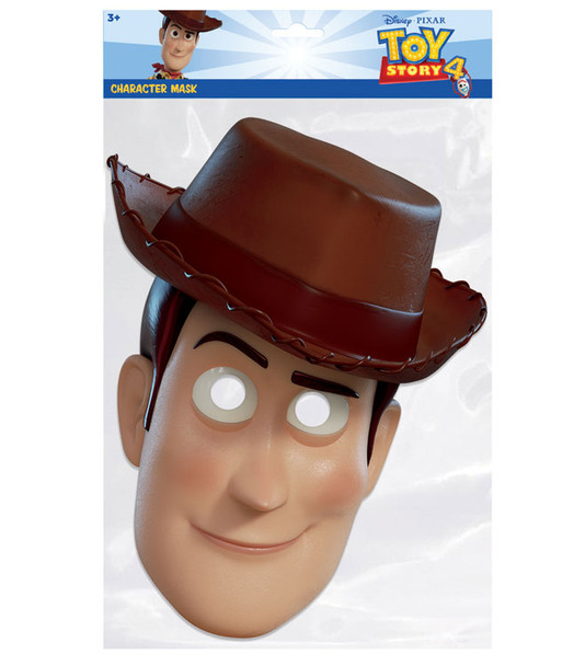 Woody Toy Story 4 Official Single 2D Card Party Face Mask
