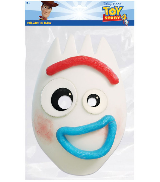 Forky  from Toy Story 4 Official Single 2D Card Party Face Mask